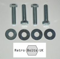 Engine Cross Member Mount Bolt Set -  Mk2 Escort